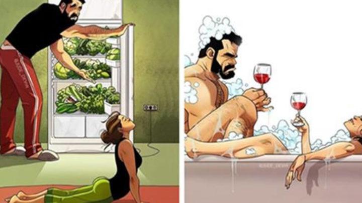 Секрет семейного счастья в новых откровенных комиксах