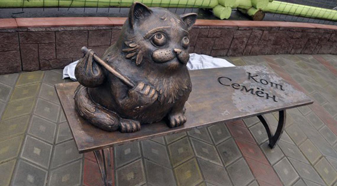 Памятник Семену: трогательная история о кошачьей преданности, которая обошла весь мир