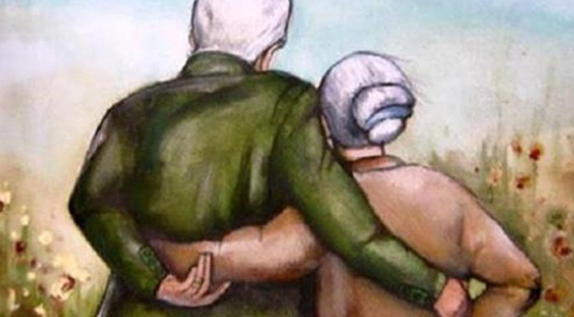 Я буду старушкой, а ты — старичком……Трогательное стихотворение