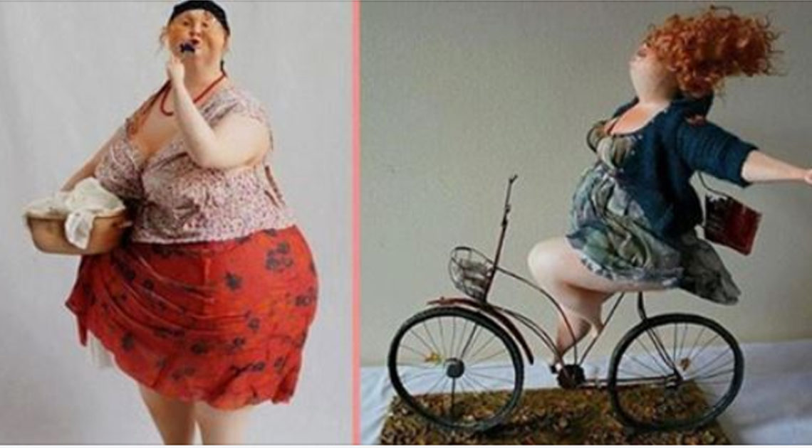 Харизматичные авторские куклы творческого дуэта «АняМаня»