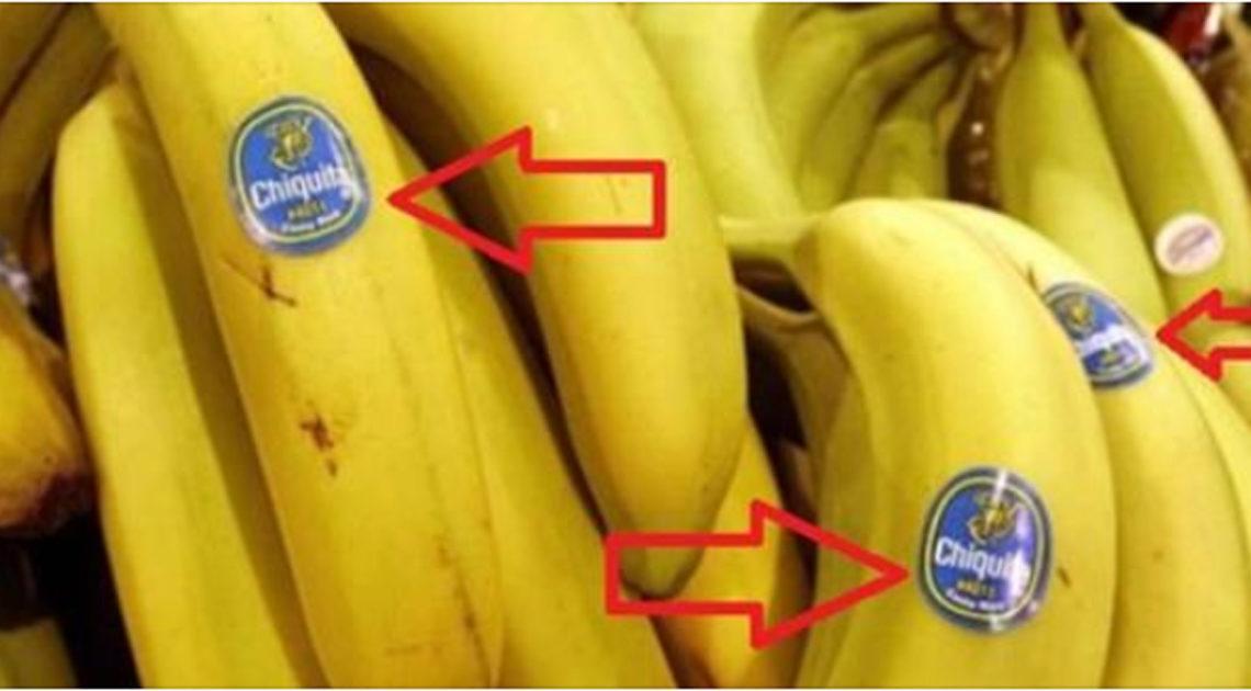Что означают наклейки на фруктах