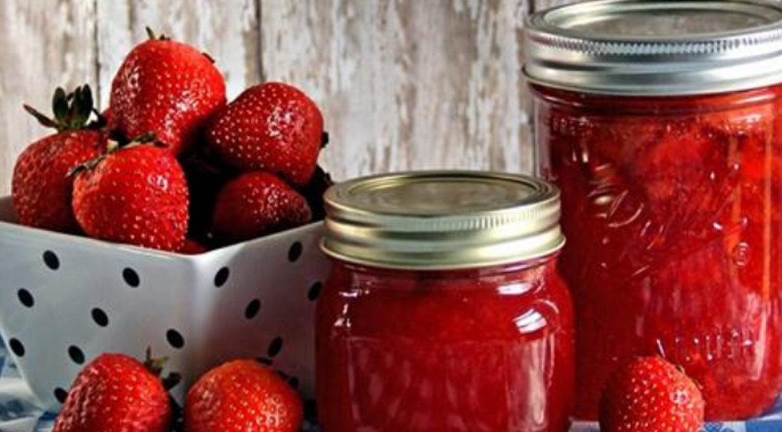 Лучший рецепт клубничного варенья без варки ягод.
