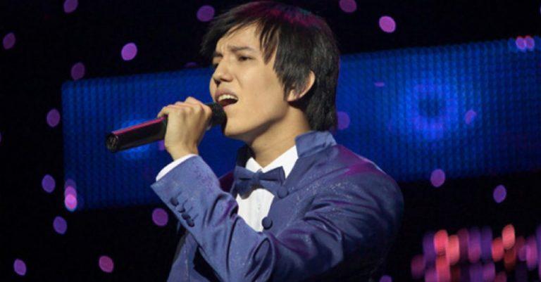 Лучший голос планеты, казахстанский певец Динмухаммед Канатулы Кудайберген.