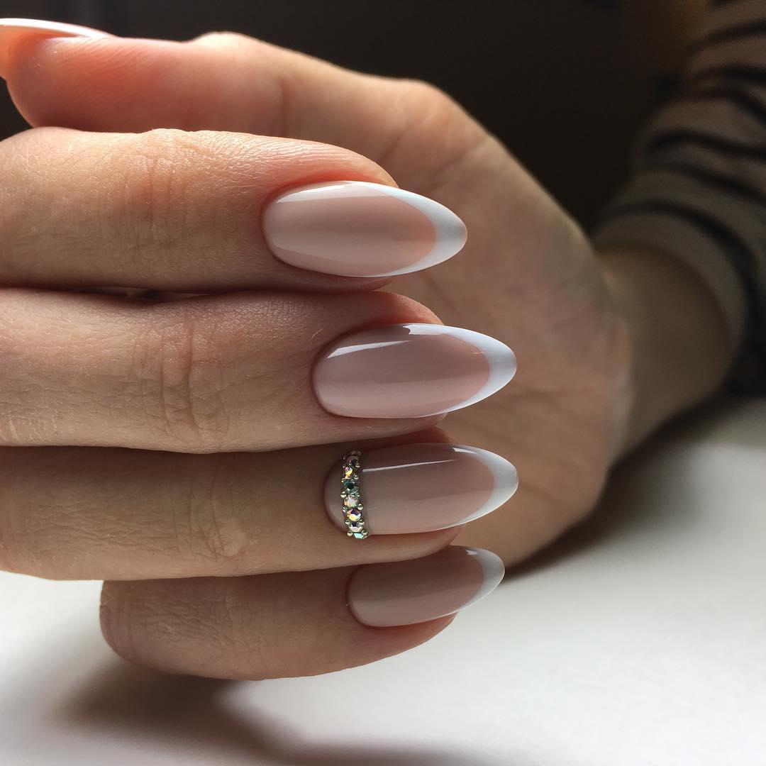 Дизайн для овальных ногтей фото